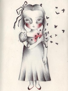 dessin de Stéfania Santarcangelo